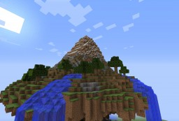 Floating Mountain Minecraft Map & Project