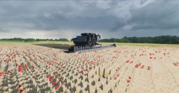 Massey Fergusson/Fendt IDEAL 9T || Combine-Harvester || Minecraft