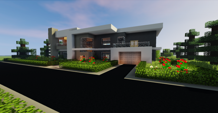 Modern House #2 [1 12 2] Minecraft Project