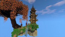 Epic Fantasy Japan Tower Minecraft Map & Project