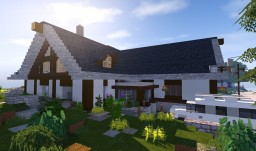 Realistic countryside house Minecraft