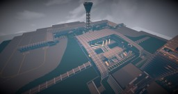 Fully sized international airport(WIP) Minecraft Map & Project
