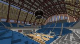 Carlton Fieldhouse Basketball Arena Minecraft