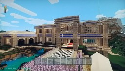 Redstone Mansion Minecraft Map & Project