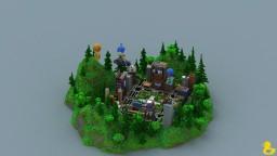 Batllenite Hub Minecraft Map & Project