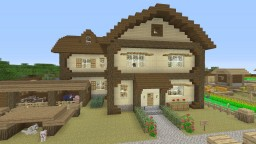 My Survival House in Vanillus Minecraft Map & Project