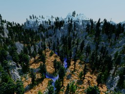 Dead Mountains - 1500x1500 Survival Map Minecraft Map & Project