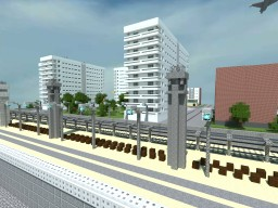 Berlin Wall & East/West Berlin Minecraft