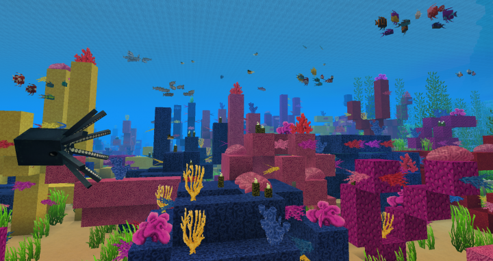 Oh good g-reef! This is a sea-rious update!