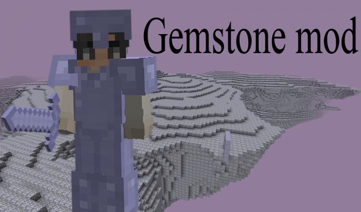 Popular Mod : Gemstone Mod - 1.12 - New Dimension - New Armor - New Biome