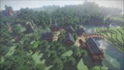 Lumber Village of Hatchet Minecraft