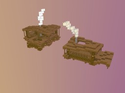 2 Small Houses Minecraft