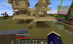 House in town Minecraft Map & Project
