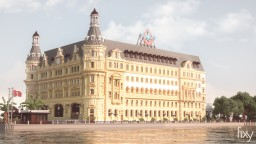 Haydarpaşa railway station [DOWNLOAD] Minecraft Map & Project