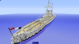 Konig Class Battleship Minecraft Map & Project