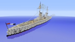 Kaiser Class Battleship Minecraft Map & Project