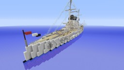 Nassau Class Battleship Minecraft Map & Project