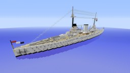 Moltke Class Battlecruiser Minecraft Map & Project