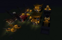 Mining Machines (no mods) Minecraft Map & Project