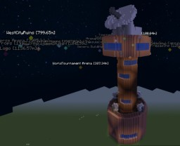 Dragon Ball - Muscle Tower Minecraft Map & Project