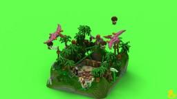 Poshamanim Jungle Hub Minecraft Map & Project