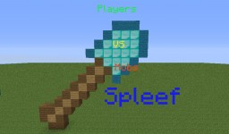 Players Vs Mobs Spleef Minecraft Map & Project