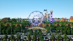 'SoonTM Land' - An amusement park like never before Minecraft Map & Project