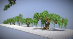 Spring Willow Tree Pack Minecraft