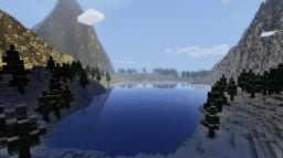Snowy Mountains Minecraft Map & Project