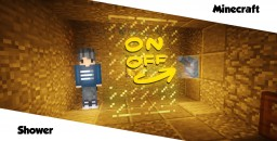 Realistic shower using only one command block! Minecraft Map & Project