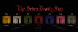 The Seven Deadly Sin adventure map Minecraft Map & Project