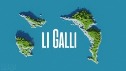 Li Galli Islands Minecraft Map & Project