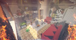 Giant Living Room [+ DOWNLOAD] Minecraft Map & Project