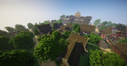 Naruto - Ko no Kuni - Village asiatique Minecraft