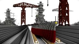 IJN Fuso-Class Battleship Minecraft