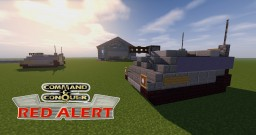 C&C Red Alert APC Minecraft Map & Project