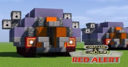 C&C Red Alert Chrono Tank Minecraft Map & Project