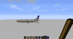 Unfinished United 738 for KORD Minecraft Map & Project