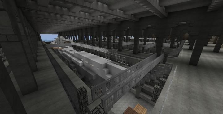 Docked U-Boat