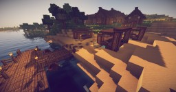 Island Village Minecraft Map & Project