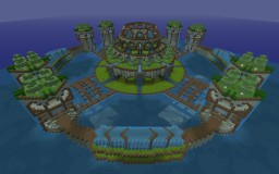 Glaucus Temple Recreation (BlockFortress Tribute) Minecraft Map & Project