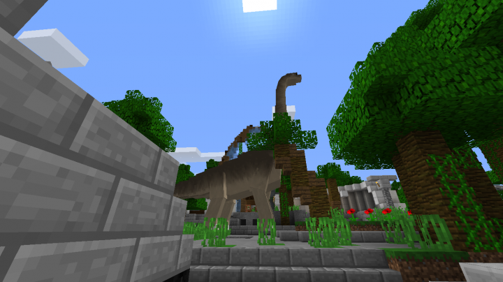 save the dinosaurs from the island that is about to explode