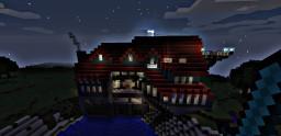 Modern Secret House Minecraft Map & Project