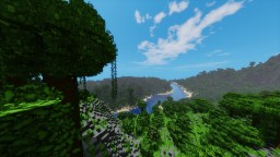 """Realistic Island"" By ClemsDX - WorldPainter Minecraft Map & Project"