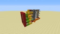 START! on a 7-segment display Minecraft Map & Project