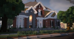 Brick Mansion 12 Minecraft Map & Project