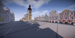 Telč - Historic town Minecraft Map & Project