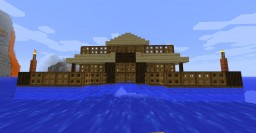 One Chunk Simple Floating Base Minecraft Map & Project