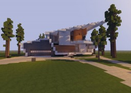 Nr 2785 Modern House/Villa Minecraft Map & Project