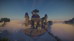 Castle in Heaven | By Acrypex Minecraft Map & Project